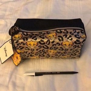 Disney's lion King make up/Cosmetic bag